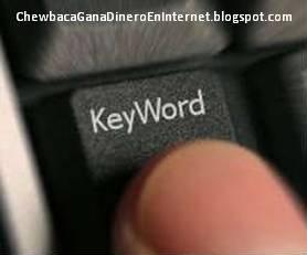 elección de las palabras clave