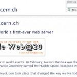 Primer Sitio Web en el Mundo