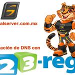 Actualiza DNS Con 123reg.co.uk y DigitalServer