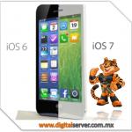 Nuevo Concepto de iOS 7 - DigitalServer