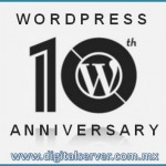 WordPress 10 Aniversario - DigitalServer