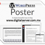 WordPress Con Poster para iOS - DigitalServer
