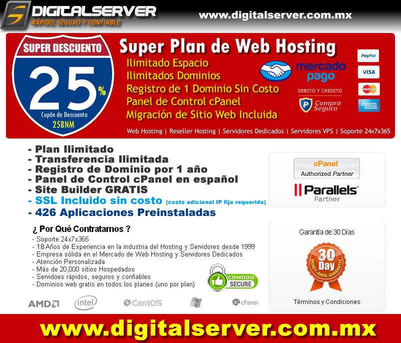 Plan Micro de Web Hosting